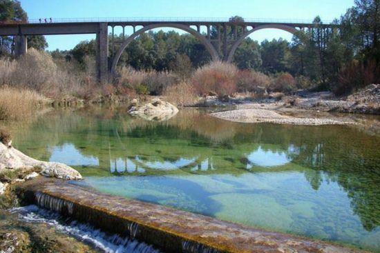 assut de lledo piscinas naturales