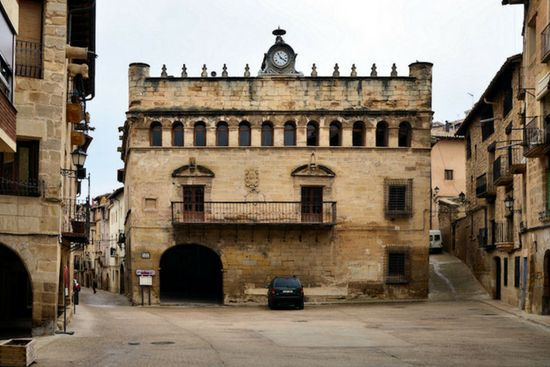 plaza españa fresneda