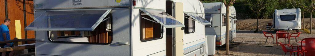 caravanas fijas camping el roble