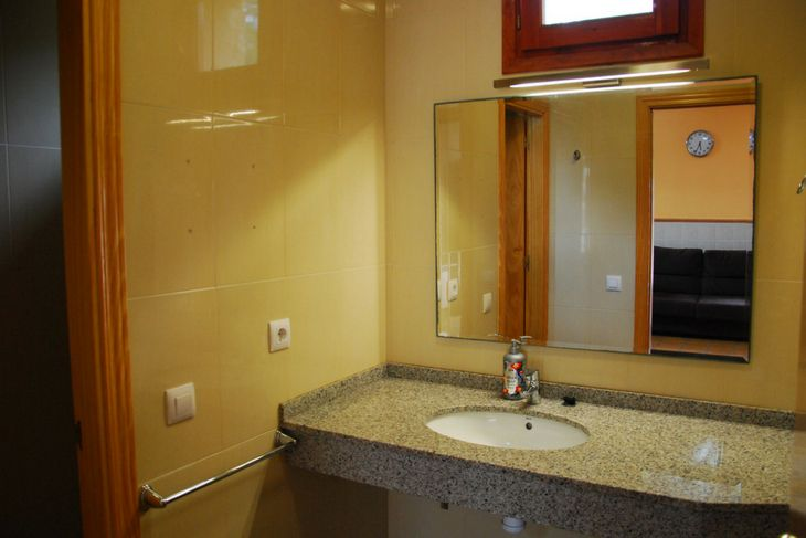baño bungalow en valderrobres matarraña