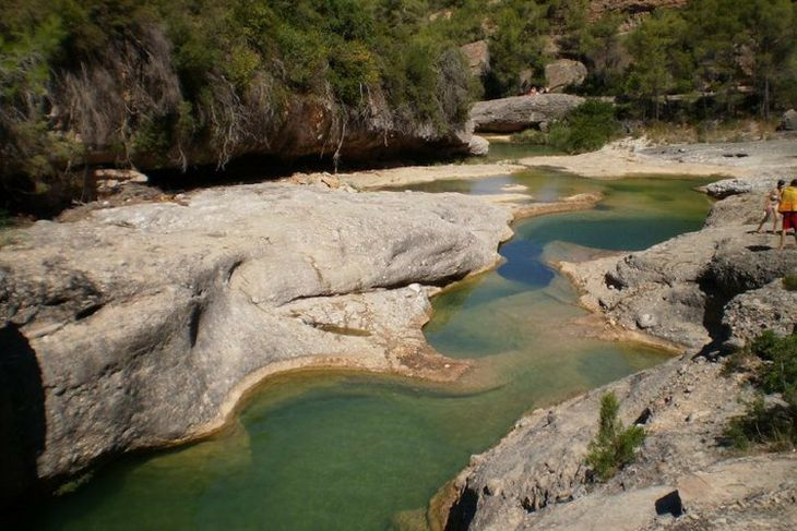 pozas naturales rio algars