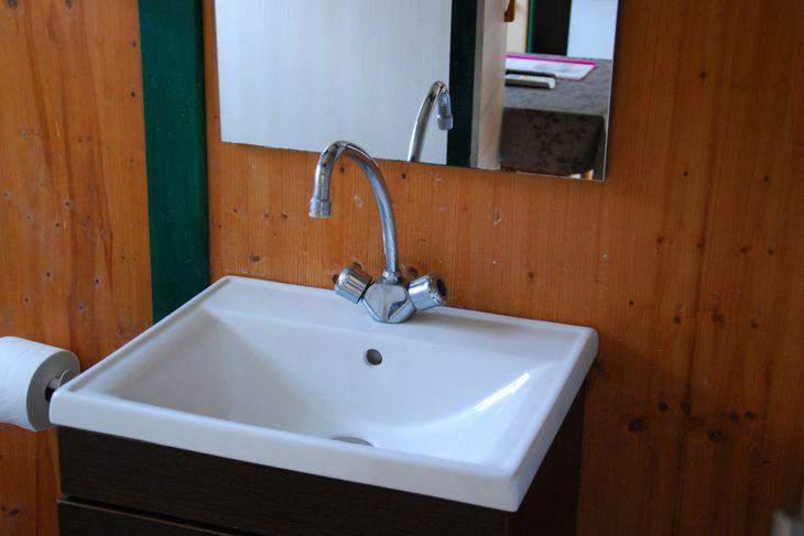 baño bungalow en valderrobres