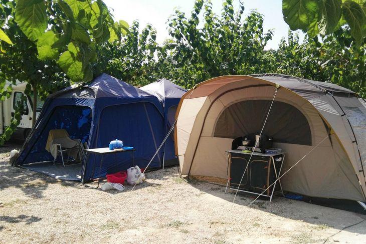 camping con niños matarraña