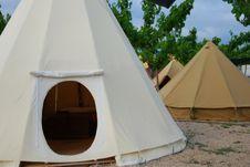 tienda india camping el roble