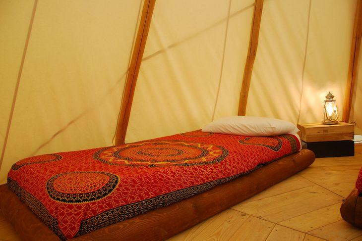 cama individual tienda india