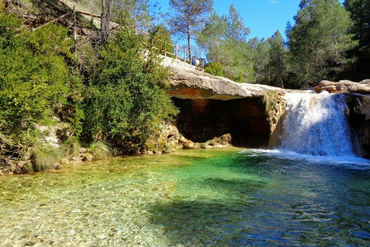 piscinas naturales rio algars