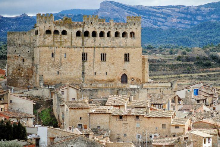 castillo valderrobres y peñagalera