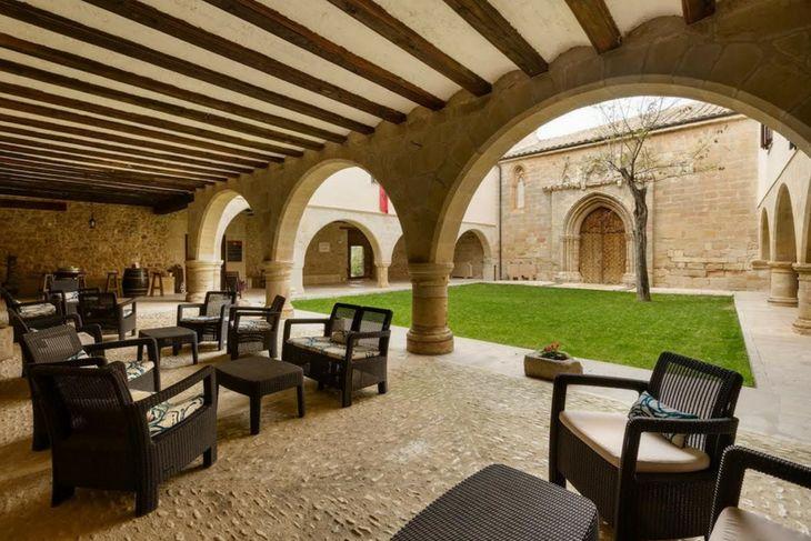 jardines interiores convento virgen de la fuente