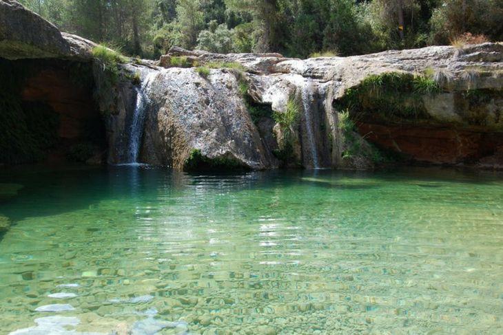 piscinas naturales terra alta