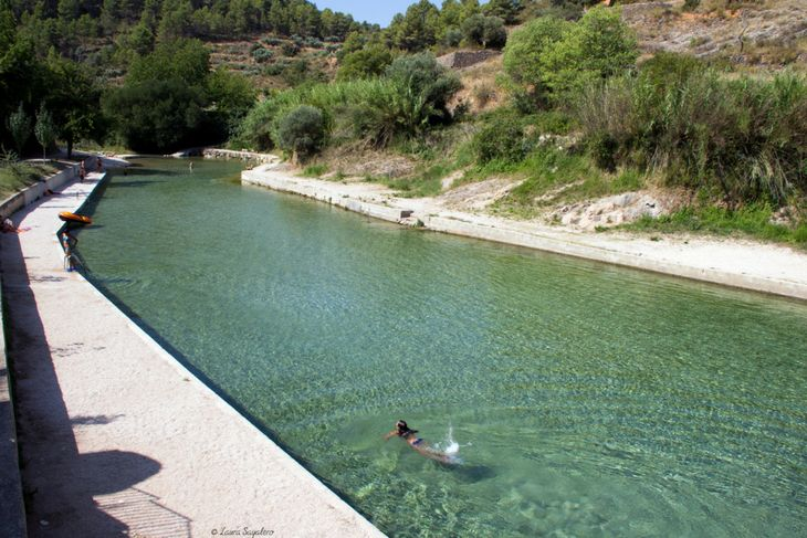 piscina natural puertos de beceite