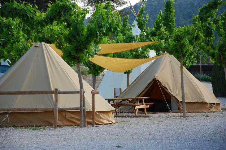 jaimas exterior camping el roble