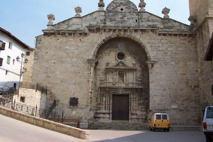 iglesia peñarroya de tastavins