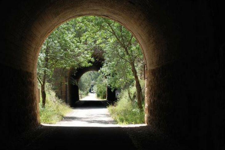 tuneles via verde matarraña