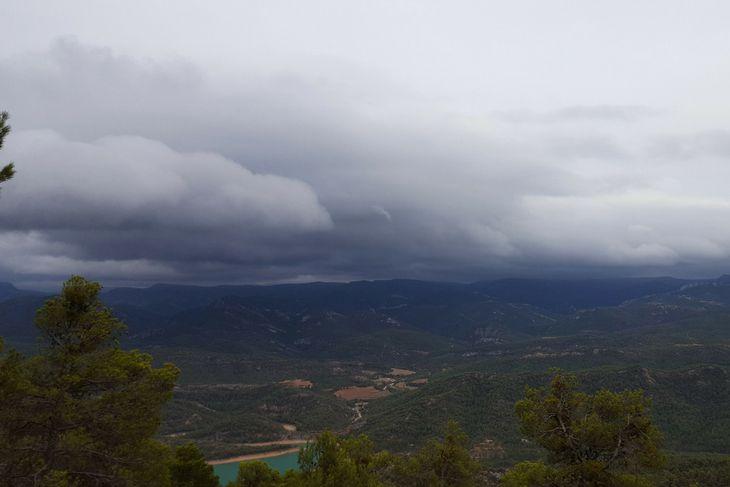vistas de la cima de la picosa