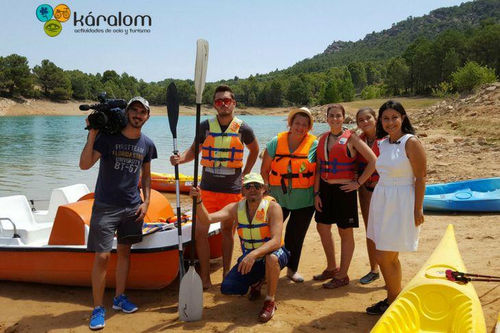 Actividades Náuticas en Aragón Tv