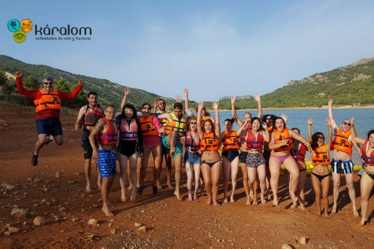 Actividades náuticas para grupos en el Matarraña