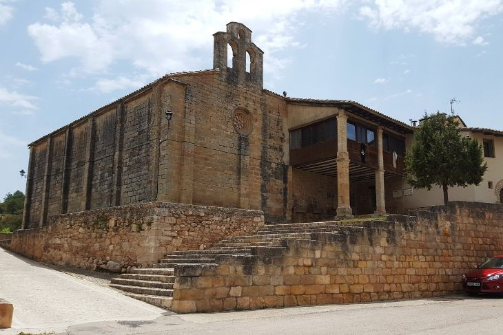 Exteriores del Santuario de Peñarroya