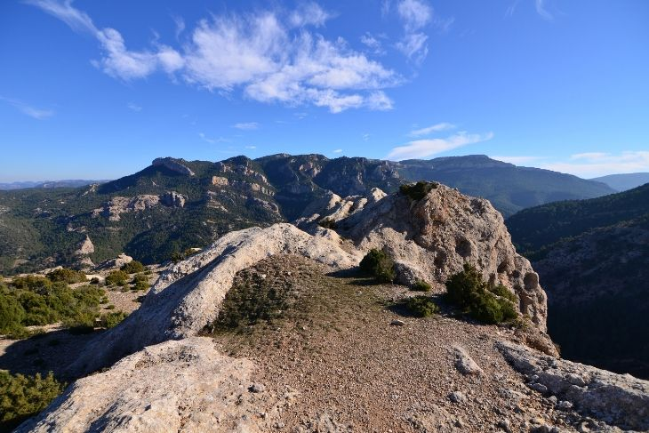 Vistas de la Sierra de Penarroya