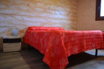 Sábanas y mantas incluidas en Camping el Roble