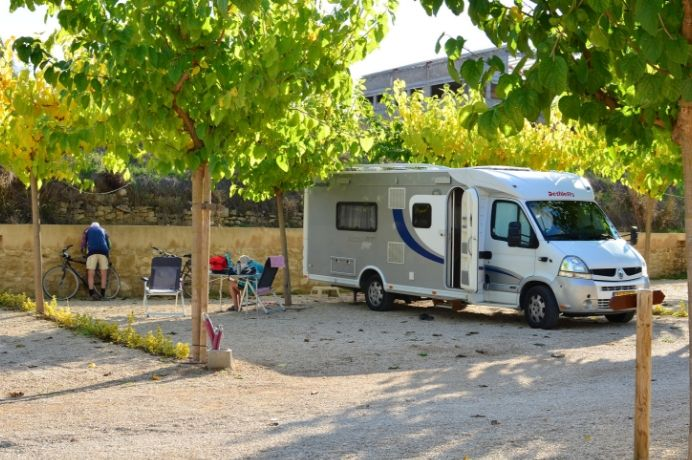 Parcela camping en el Matarraña