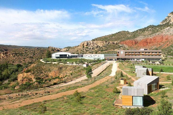 Sierra de Arcos y Balneario de Ariño