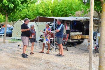 Tienda de campaña Camping Matarraña