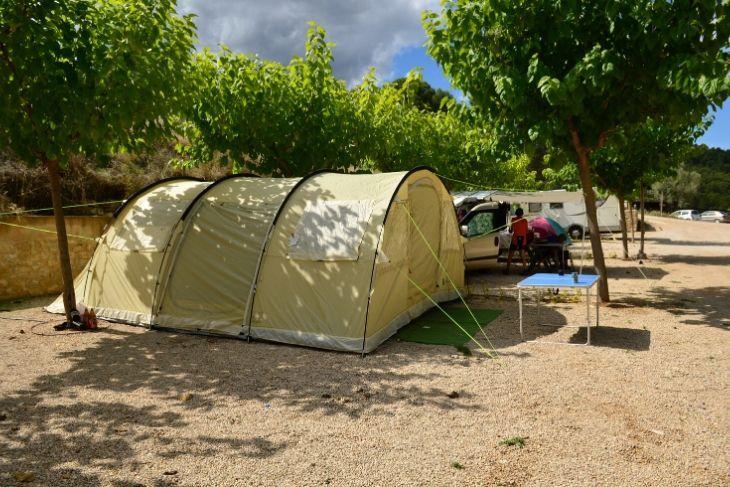 Acampada ACSI en Teruel