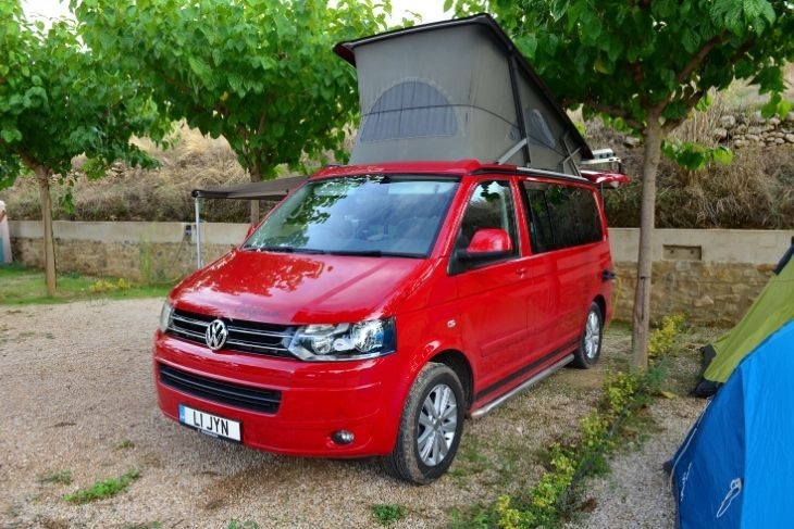 Parcela Camper Camping el Roble