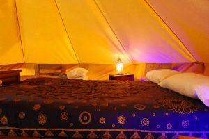 jaima interior camping valderrobres